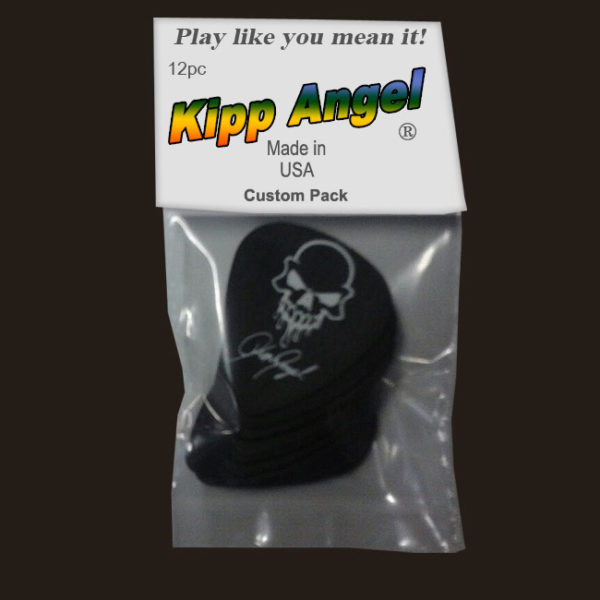 Kipp Angel Signature Black Guitar Picks