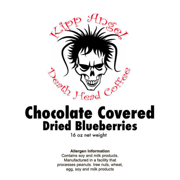 Chocolate Covered Dried Blueberries