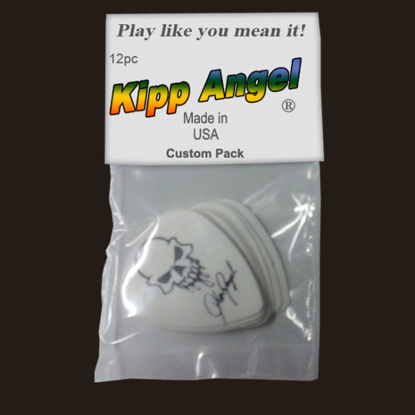 Kipp Angel Signature White Guitar Picks