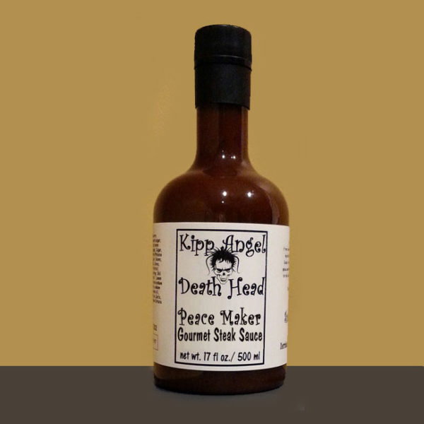 Death Head Peace Maker Steak Sauce